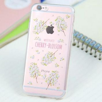 Cute Flower Case for iPhone 5s 5se 6 6s Plus Gift 318-170928