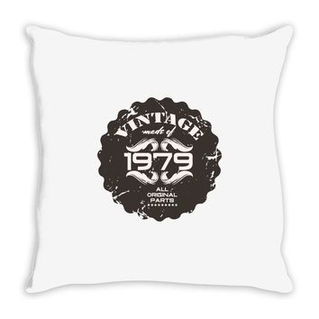 vintage made of 1979 all original parts Throw Pillow