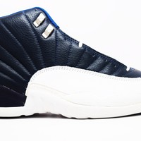 Air Jordan XII Obsidian OG Basketball Shoes <>