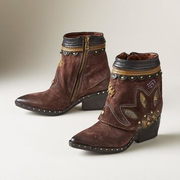 Lotus Blossom Boots
