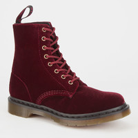 Dr. Martens Page Womens Boots Cherry  In Sizes
