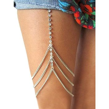 Sexy Multilayer Leg Chains Accessories