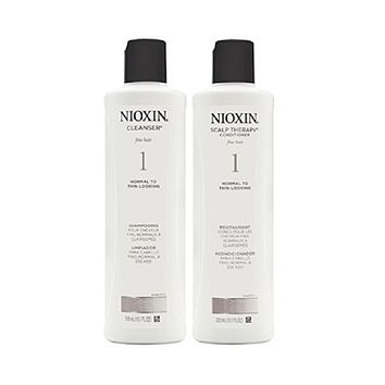 Nioxin System 1 Cleanser and Scalp Therapy Duo Set 10.1 oz