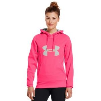 Under Armour Storm Armour Fleece Big Logo Hoodie - Women's at Lady Foot Locker