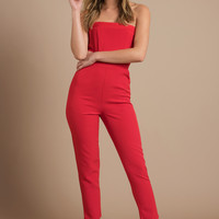 Gina Strapless Jumpsuit