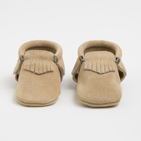 Sand Suede - Moccasins