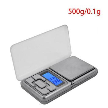 LMFON new jewelry scales weigh digital lcd display mini electronic balance pocket kitchen scale