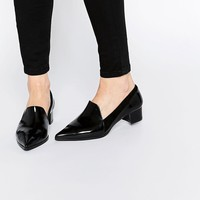 Warehouse | Warehouse Pointed Heeled Loafer at ASOS