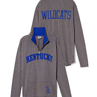 University of Kentucky Raw Half-zip Pullover - PINK - Victoria's Secret