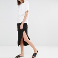 Selected Plesa Midi Skirt at asos.com