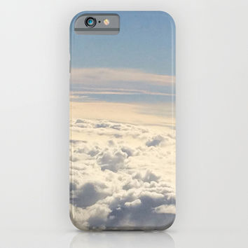 Above the Clouds iPhone & iPod Case by Kayleigh Rappaport