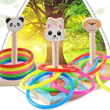 New Children Outdoor Fun & toy sports Tossing Ring joy ferrule throwing game parent child interaction Toys Indoor Toys