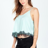 Wink Back Lace Cami