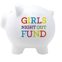 Girls Nite Out Fund Piggy Bank