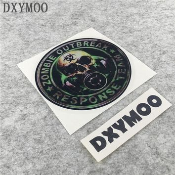 ZOMBIE OUTBREAK RESPONSE TEAM Car Stickers Motorcycle Racing Sticker Vinyl Decals for Resident evil 10x10cm