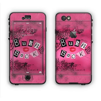 The Burn Book Pink Apple iPhone 6 LifeProof Nuud Case Skin Set
