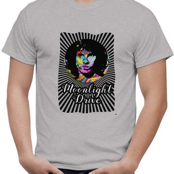 Jim Morrison |Psychedelic Moonlight Drive T-Shirt