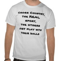 Cross Country T Tee Shirts from Zazzle.com