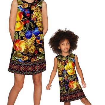 Summer Night Adele Shift Party Mother Daughter Dress