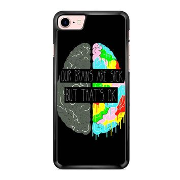 Fake You Out Twenty One Pilots Brains iPhone 7 Case