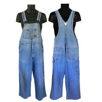 Vintage Osh Kosh Overall Men Oshkosh Overall Blue Jean Overall Denim Overall Dungaree Men Dungaree Salopette Overall Pant Overall Jeans