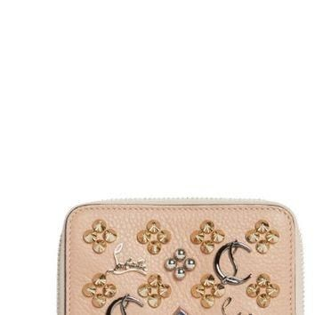 Christian Louboutin Panettone Leather Coin Purse | Nordstrom