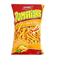 Lorenz Hot & Spicy Pomsticks 3.5 oz. (100g)