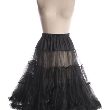 NEW: Volume Up Crinoline in Black - $64.95 : Indie, Retro, Party, Vintage, Plus Size, Convertible, Cocktail Dresses in Canada