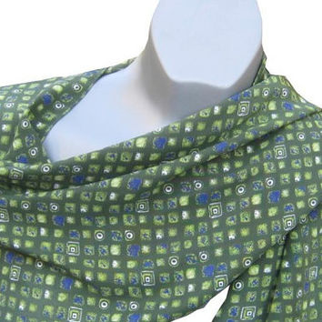 Esprit Scarf, Green Scarf, Accessories, Women, Mens Scarves, Accessories Man, Signed Scarf, Long Scarf