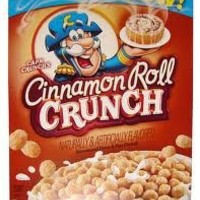 Quaker Cap'n Crunch Cinnamon Roll Crunch Cereal, 14.5oz