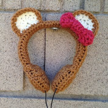 Honey Bear Crocheted Headphones - Whimsical & Unique Gift Ideas for the Coolest Gift Givers