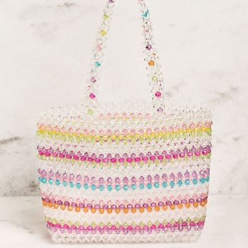 Lovers Only Beaded Handbag