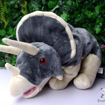 Triceratops Dinosaur Stuffed Animal Plush Toy 16""