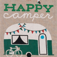 Tea Towel - Happy Camper
