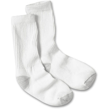Hanes Cushioned Womens Crew Athletic Socks 10-Pack