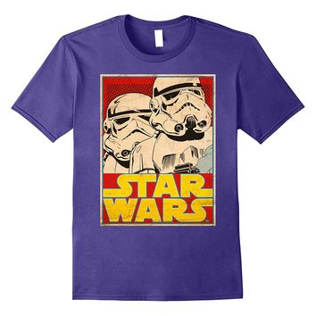 Star Wars Stormtrooper March Vintage Trading Card T-Shirt