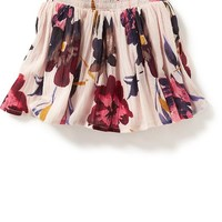 Old Navy Floral Crinkle Gauze Skirt For Baby