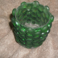 Visiions of Oz, Jar, Hand-Crafted, Decorated, Glass