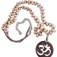 NEW! Om Yoga Necklace