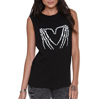 Love Made Throw Ur Heart Up Muscle Tank at PacSun.com