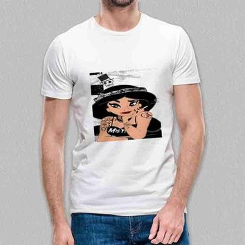 Custom Gildan Men's T-Shirt Disney Punk Jasmine