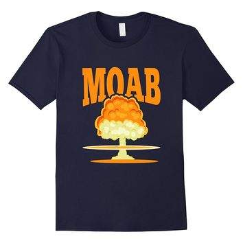 MOAB T-Shirt - Mother Of All Bombs Mushroom Cloud Weapon Tee