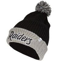 Oakland Raiders - Logo Stepback Knit Hat