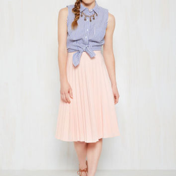 Show 'Em a Good Tea Time Skirt | Mod Retro Vintage Skirts | ModCloth.com
