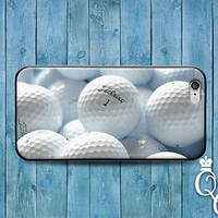 Cute Custom Golf Ball Cover Cool Golfing Case iPod iPhone White Balls Sport Dad