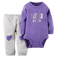 2-Piece Bodysuit & Pant Set