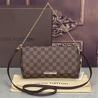 LV Louis Vuitton Women Shopping Leather Satchel Shoulder Bag Handbag Crossbody Day-First™