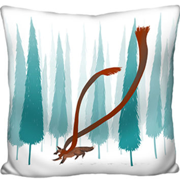 Into the Forest Pillow