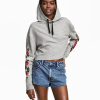 H&M Short Hooded Sweatshirt $29.99