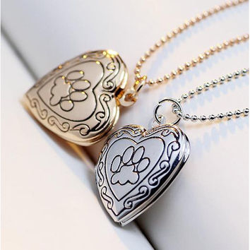 Dog Lovers Locket Necklace